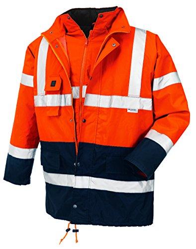 Preisvergleich Produktbild teXXor Warnschutz-Parka Calgary wasserdichte, winddichte Arbeitsjacke, L, orange, 4108