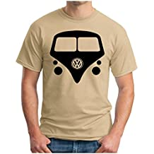OM3 - BULLY - T-Shirt Hippie Kult Auto Transporter Woodstock Flower Power 60s 70s Samba Dope Kush Geek, S - 5XL