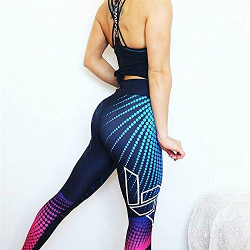 Weant Pantalones Yoga Mujeres Mallas Deportivas Mujer Punto de ola Mujer Deporte Pantalones Fitness...