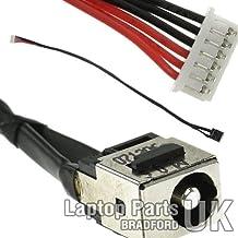 LENOVO B560, V460 series DC Power Jack, Conector de Alimentación, Enchufe, Conector de puerto con el cable