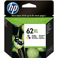 HP 62XL C2P07AE Cartuccia Originale per Stampanti HP a Getto d'inchiostro Compatibile con Stampanti HP Envy All in One…