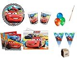 KIT COMPLEANNO BAMBINO CARS