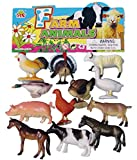 a2b 12 Set Farm Animal Plastic Toys For ...