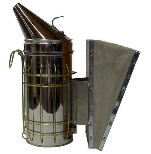 New Bee Hive Smoker Edelstahl W/Hitzeschild Bienenzucht Ausrüstung von Vivo