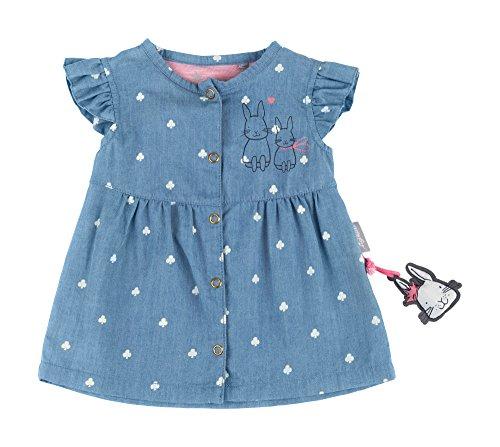 Sigikid Baby-Mädchen Jeans Kleid, Blau (Denim Light Blue 590), 86