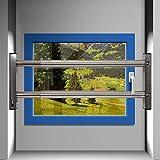 VOSS Fenstersicherung Sicherungsstange Türsicherung Einbruchschutz 2Fach 1000-1700mm