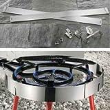 Garcima Windschutz für Paella Gasbrenner - Größe 300 / 350