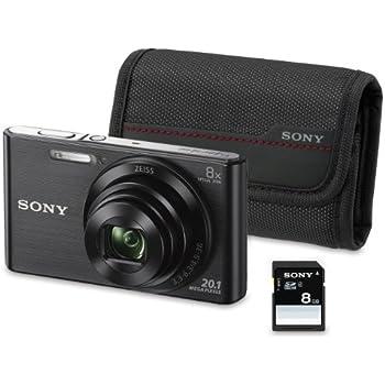 Sony DSC-W830 Appareil Photo Numérique Compact 20.1 Mpix zoom 8 x Noir