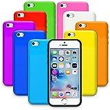 G-HUB® - MULTI PACK de 10x Couleur Gel Etuis pour APPLE iPHONE 5 (2012) & iPHONE 5S (2013) & iPHONE SE (2016) - Protective flexible silicone gel étui Multipack - Comprise 10 couleurs assorties - Chaque Housse est Conçu exclusivement pour l' Apple iPhone 5 (Original 2012 Modèle) & iPhone 5S (Nouveau 2013 Version de iPhone5 SmartPhone / Téléphone Mobile)