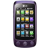 LG GS500 Cookie Plus Smartphone (7.62 cm(3 Zoll) Touchscreen, 3.5mm Klinkenanschluss) imperial purple
