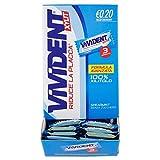 Vivident Xylit Spearmint Gomma da Masticare Senza Zucchero, Chewing Gum Gusto Menta, Confezione da 170 Gomme, Monopezzi da 3 Gomme Ciascuno