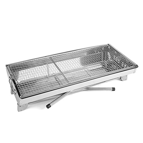 Zoom IMG-3 mbuynow barbecue griglia a carbone