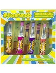 #flashmob Electric Kisses shockingly bold lipstick shades
