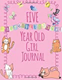 Best Books For 5 Yr Old Girls - Five Year Old Girls Journal: Blank and Wide Review