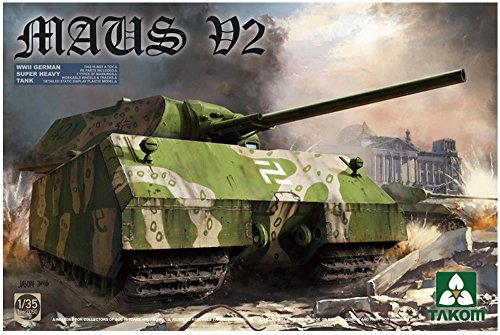 takom-maus-v2-german-supertank-plastic-model-kit-1-35-scale