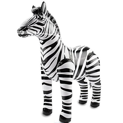 (Folat Party aufblasbar – Zebra (55 x 60 cm))