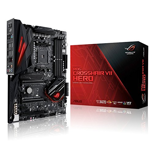 Asus CROSSHAIR VII HERO AMD AM4 X470 ATX - Placa base