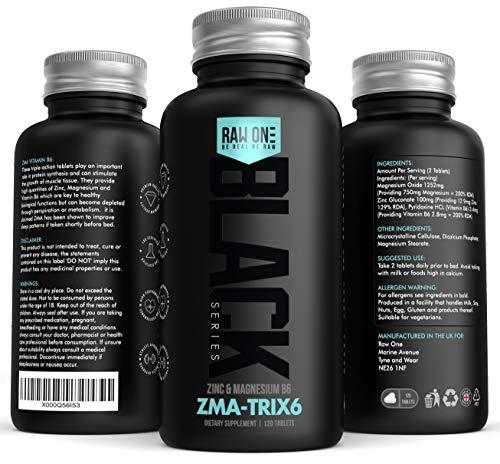 ZMA Extreme | Zink, Maganesium und Vitamin B6 ZMA Supplement | Muskelkraft, Ausdauer und Erholung fördern, Testosteronspiegel erhöhen, Müdigkeit reduzieren, Schlaf verbessern - Triple Action Tabletten