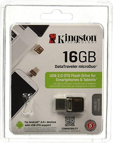 Kingston DT microDuo USB2.0 OTG 16GB Pen Drive
