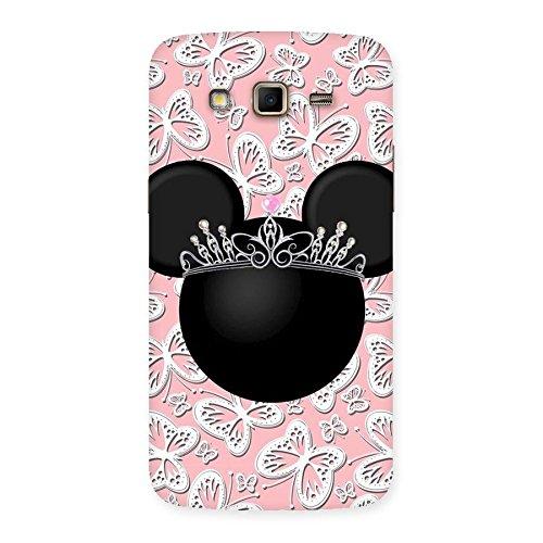 Neo Black Princess Back Case Cover for Samsung Galaxy Grand 2
