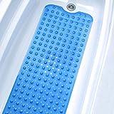 Tosnail Badewanneneinlage 100*38cm, blau