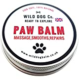 Dog Paw Balm 100% Natural, repairs cracks and smooths rough paws. Made in the UK