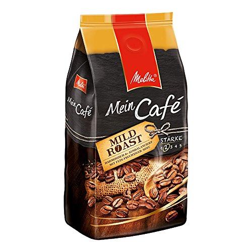 Melitta Ganze Kaffeebohnen, harmonisch und ausbalanciert mit fein-fruchtiger Note, milder Röstgrad,...