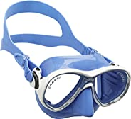 Cressi Marea Jr Scuba Diving and Snorkeling Junior Mask - Blue, Adult Size