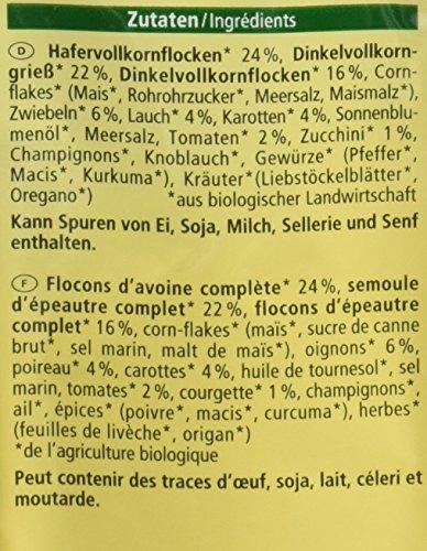 Alnatura Bio Vollkorn-Burger Gemüse, 5er Pack (5 x 210 g) - 4