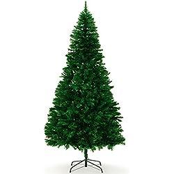 Albero di Natale artificiale 240 cm con base