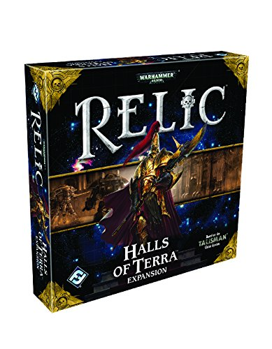 Warhammer 40k Relic Board Game - Halls of Terra Expansion