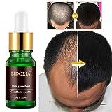 Comtervi 10ml Huile de croissance des cheveux, Perte de cheveux naturelle Produits fait pousser les cheveux plus rapidement Regrowth