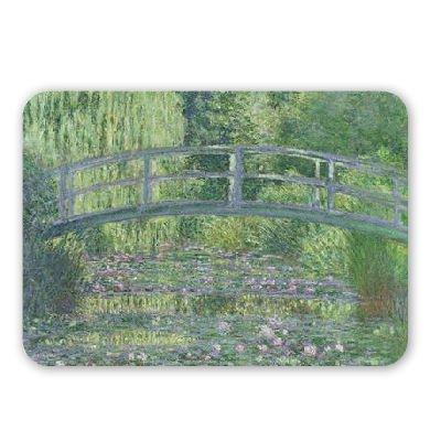 The Waterlily Pond: Green Harmony, 1899 (oil.. - Mousepad - Natürliche Gummimatten bester Qualität - Mouse Mat - Willow Pond
