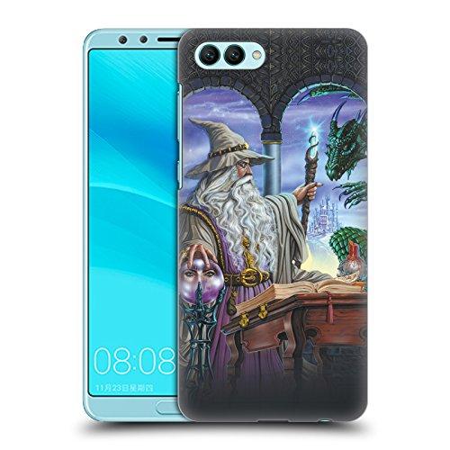 Offizielle Ed Beard Jr Botschafter Drachen Von Dem Zauberer Fantasie Ruckseite Hülle für Huawei Nova 2S