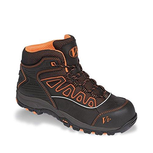 VTech  Aztec, Chaussures de sécurité pour homme noir noir/orange noir/orange