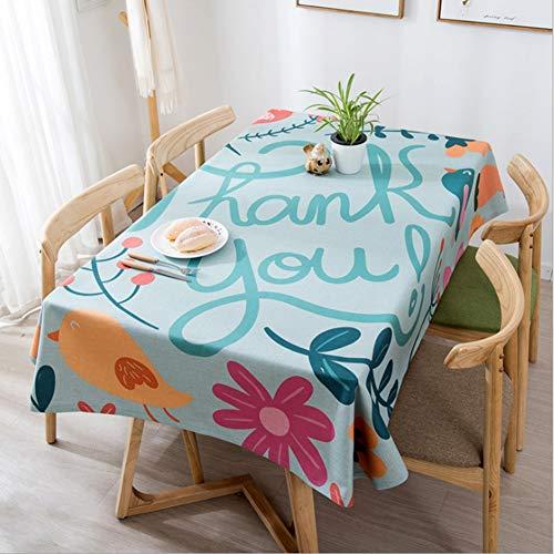 GUOAI Moderne Leinen Baumwolle Gepolsterte Tischdecke Baumwolle Leinen Tischdecke Wohnzimmer Couchtisch Rechteckigen Tisch Westlichen Tuch Tischdecke,Color,140 * 140cm -