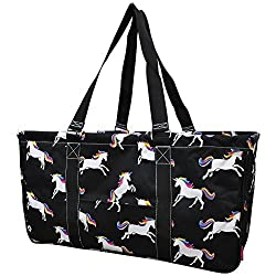 Unicorn Print Ngil Utility Tote Shopping Bag