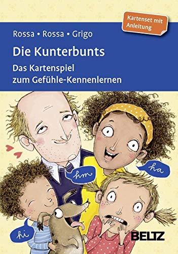 Die Kunterbunts: Das Kartenspiel zum Gefühle-Kennenlernen. Kartenset mit 120 Karten. Mit 24-seitigem Booklet. Mit Online-Material (Beltz Therapiekarten)
