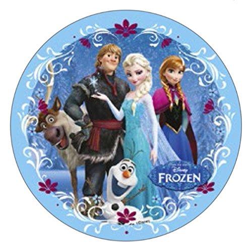 Disney Dekoration für Kuchen auf Fondant ELSA Anna Olaf Kristoff Sven Frozen