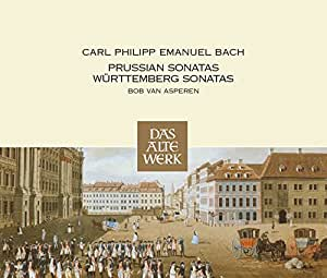 Carl Philipp Emanuel Bach : Sonates prussiennes - Sonates Württemberg