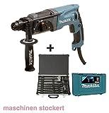 Makita HR2470 Bohrmaschine mit Bohrer und