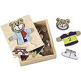 Eichhorn 100003658 - Rompecabezas de madera de 20 piezas, diseño de oso