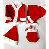 Tingoking Santa Claus Dress Costume For Children