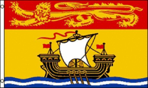 3x5 New Brunswick Canada Flag Canadian Province Banner NB New Indoor Outdoor