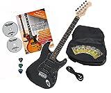 Rocktile Pro ST60-BK Guitare électrique Black avec accessoires