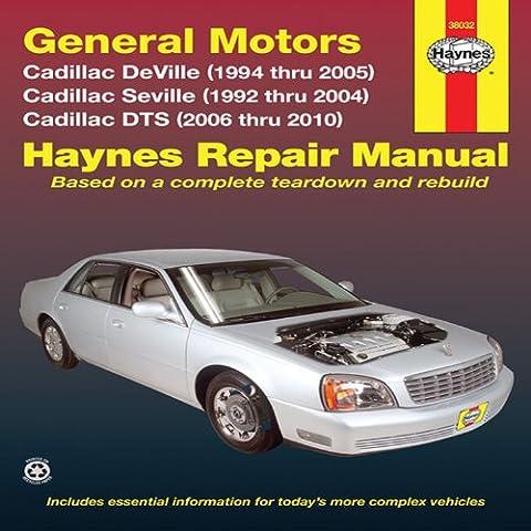 General Motors Cadillac DeVille (1994 thru 2005) Cadillac Seville (1992