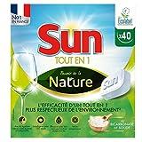 Sun Tablettes Lave-Vaisselle Ecologiques Pouvoir de la Nature Ecolabel