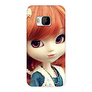 Enticing Tiny Baby Girl Multicolor Back Case Cover for HTC One M9