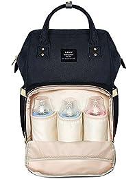 Orange HEYI Baby Wickeltasche Reise Rucksack,Isolierte Tasche Multifunktional Gro/ße Kapazit/ät Modern Einzigartig Tragbar Handtasche Organizer Wasserdicht Stoffe Passform f/ür Kinderwage