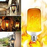 Flamme LED Lampe 4 Modi Flackernde Flamme Glühbirnen 7W E27 Schwerkraft Sensor für UP / Down Anwendung perfekte Umgebungslicht für Terrasse